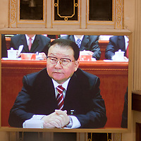 BEIJING, NOV 8, 2012 : Li Changchun,  attends the 18th Party Congress of the CPC ( Communist Party Of China ). He is currently  one of the 9 members of the Standing Committee.