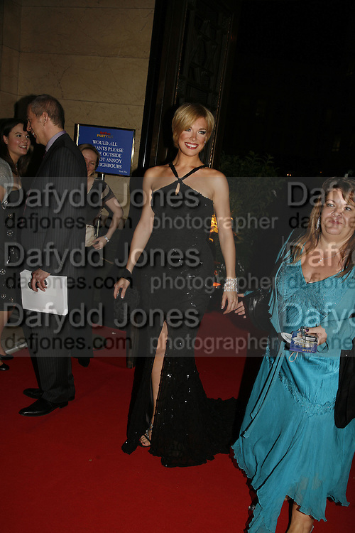 Hannah Waddingham and her agent, Opening of Spamalot at the Night Palace Theatre and afterwards at Freemasons Hall Gt. Queen St.  London. 17 October 2006. -DO NOT ARCHIVE-© Copyright Photograph by Dafydd Jones 66 Stockwell Park Rd. London SW9 0DA Tel 020 7733 0108 www.dafjones.com