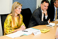 30-6-2015 MANILLA - Queen Maxima  at UN Headquaters with O. Almgren,<br /> &lsquo;UN resident co&ouml;rdinator&rsquo; Queen Maxima during a three-day visit to the Philippines, as a special advocate of the Secretary-General of the United Nations. Queen M&aacute;xima visits in her capacity as special advocate of the Secretary-General of the United Nations for inclusive finance for development (inclusive finance for development). COPYRIGHT ROBIN UTRECHT