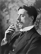 Arnold Bennett, English Author and Playwright, 1912