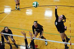 Kelsy Weber at the Kuna Klassic volleyball tournament at Kuna High School, Kuna, Idaho, August 29, 2015.
