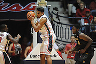 "Mississippi's Sebastian Saiz (11) vs. Missouri at the C.M. ""Tad"" Smith Coliseum in Oxford, Miss. on Saturday, February 8, 2014. (AP Photo/Oxford Eagle, Bruce Newman)"