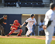 Ole Miss' Tanner Mathis (12) vs. Houston at Oxford-University Stadium in Oxford, Miss. on Saturday, March 10, 2012. Ole Miss won 9-0.