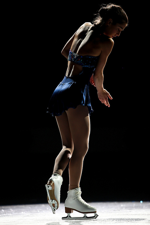 20101031 -- Kingston, Ontario -- Alissa Czisny of the United States skates in the exhibition gala at Skate Canada International in Kingston, Ontario, Canada, October 31, 2010. <br /> AFP PHOTO/Geoff Robins