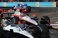 Helio Castroneves, Honda Grand Prix of St. Petersburg, Streets of St. Petersburg, St. Petersburg, FL USA 3/27/2011
