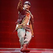 WASHINGTON, DC - September 17th, 2011 -Chris Brown performs at the Verizon Center. Brown released his fourth studio album, F.A.M.E., earlier this year and has another album slated for release in early 2012.  (Photo by Kyle Gustafson/For The Washington Post)