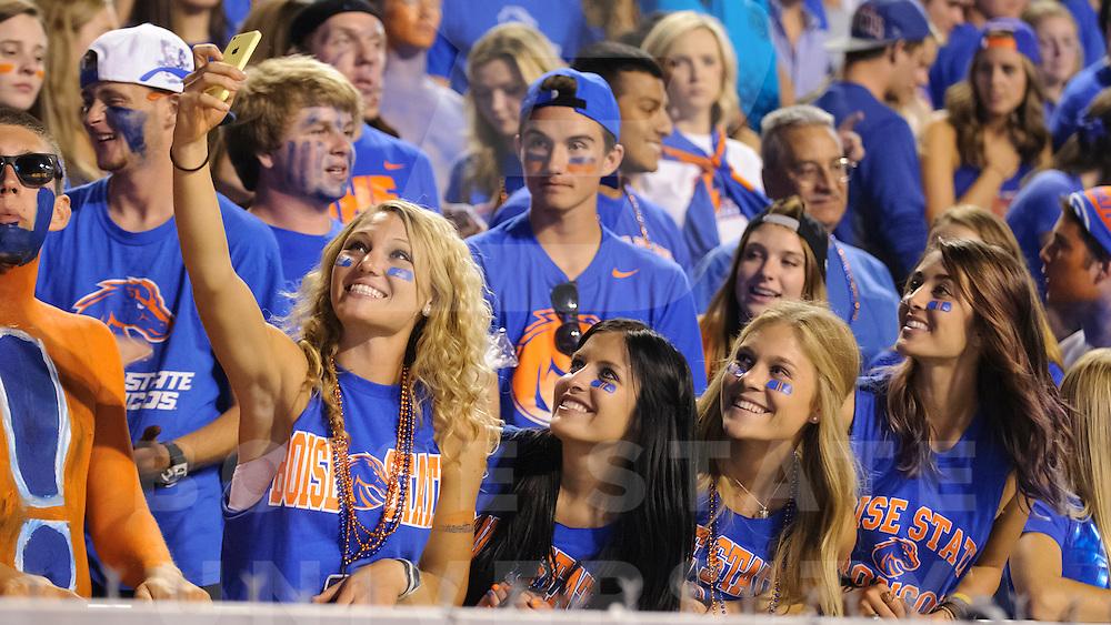 Football vs. Colorado State, Fans, Student Section, Wankun Sirichotiyakul Photo