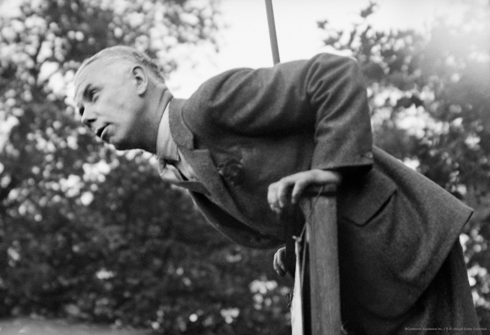 Hyde Park Orator, London, England, 1934