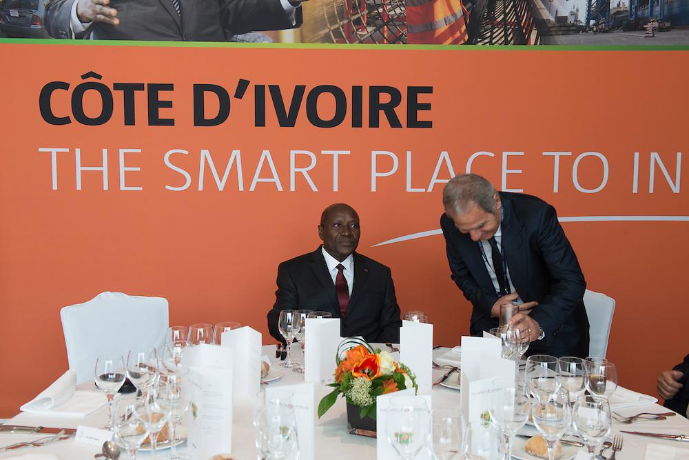 Daniel Kablan Duncan, Premier ministre de la Cote d'Ivoire, Africa CEO Forum 2015