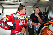 Harvey Norman Supergirls - Simona de Silvestro & Renee Gracie
