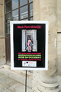 January 17, 2013- Paris, France- Atmosphere at the Black Portraiture(s): The Black Body in the West Conference Day 1 held at Ecole national superieure des beaux-arts on January 17, 2013 in Paris, France. The Black Body in the West, the fifth in a series of conferences organized by Harvard University and NYU since 2004 explores ideas of the production of self-representation, desire and the exchange gaze from the 19th century to the present day in fashion, film, art and the archives. (Terrence Jennings)