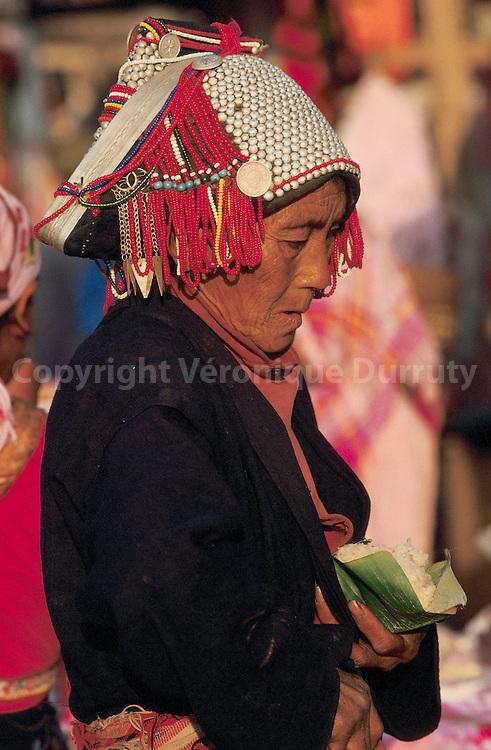 MARCHE DE MENGHUN, XISHUANGBANNA, YUNNAN, CHINE