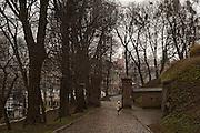 Gdansk city center.<br /> <br /> Gdansk and Remontowa Shipyards