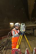 Alín Ron (topografa) /Crossrail proyecto en Londres  construido por la empresa española Ferrovial.