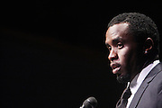 October 16, 2012-New York, NY : Music Executive/Entrepreneur/Actor Sean Combs aka P. Diddy at the 3rd Annual National Action Network Triumph Awards held at Jazz at Lincoln Center on October 16, 2012 in New York City. The Triumph Awards were established by the National Action Network to recognize the contributions of humanitarians from all walks of life and to encourage future generations to drum majors for justice.  (Terrence Jennings)