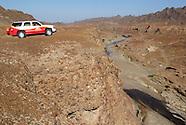 Exploring the Hajar mountains in Oman