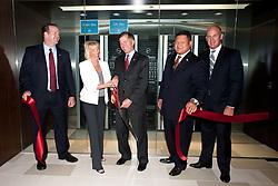 Governor Bob McDonnell and Dell executives open Dell Solution Center Herndon, VA