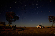 Brunette Downs Cattle Station is situated on the Barkley tablelands in Australia's Northern Territory. One of Australia's largest cattle stations..Sleeping out under the stars at stock camp.