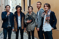 2010 portrait of band Natas Loves You from Luxembourg. This was a spontaneous shoot right after a show on national radio.
