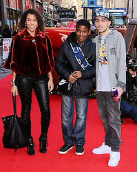 Adam Deacon and guests attend The UK Premiere of Get Santa at Vue West End, Leicster Square, London on Sunday 30th November 2014