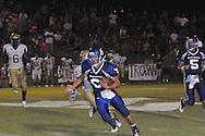 Water Valley's Brandon Bounds (6) vs. Bruce in Water Valley, Miss. on Friday, September 7, 2012. Water Valley won 17-16.