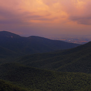 &quot;Believe&quot;<br /> <br /> An amazing summer sunset over the Blue Ridge Mountains!
