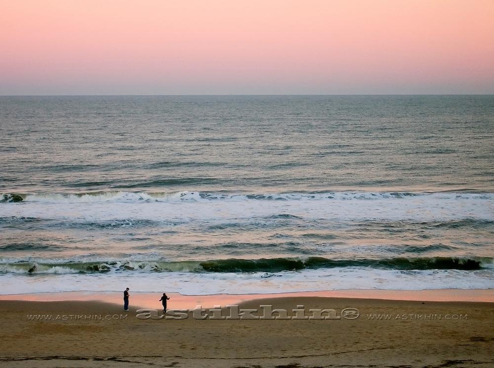 Ocean after sunset