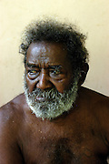 Biuku Gasa (scout that found JFK).Kauvi Island - Roviana Lagoon.The Solomon Islands 30/06/05.