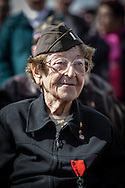 WWII veteran, Ellan Levitsky Orkin 95 y/o, volunteered w/sister, US Army Nursing Corps, going thru netherland and US army personal during the celebrations in Picauville