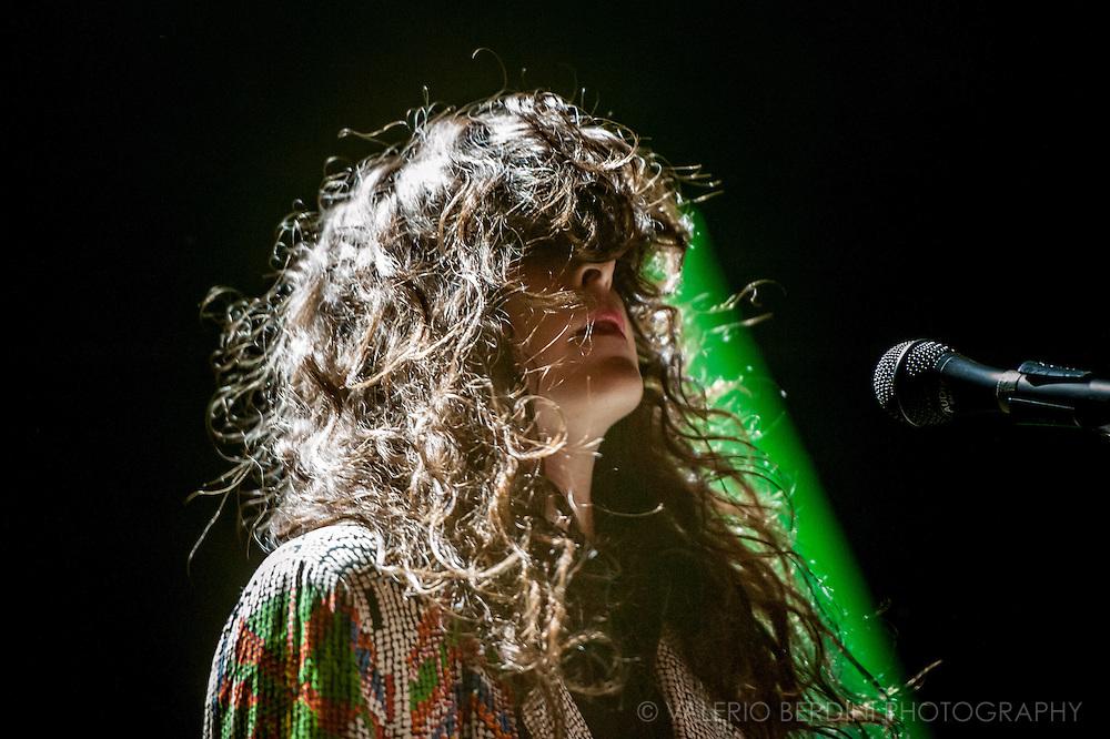 Victoria Legrand of Beach House live at the Shepherd's Bush Empire in London on 23 Nov 2011