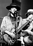 Stevie Ray Vaughan 1983<br /> &copy; Chris Walter