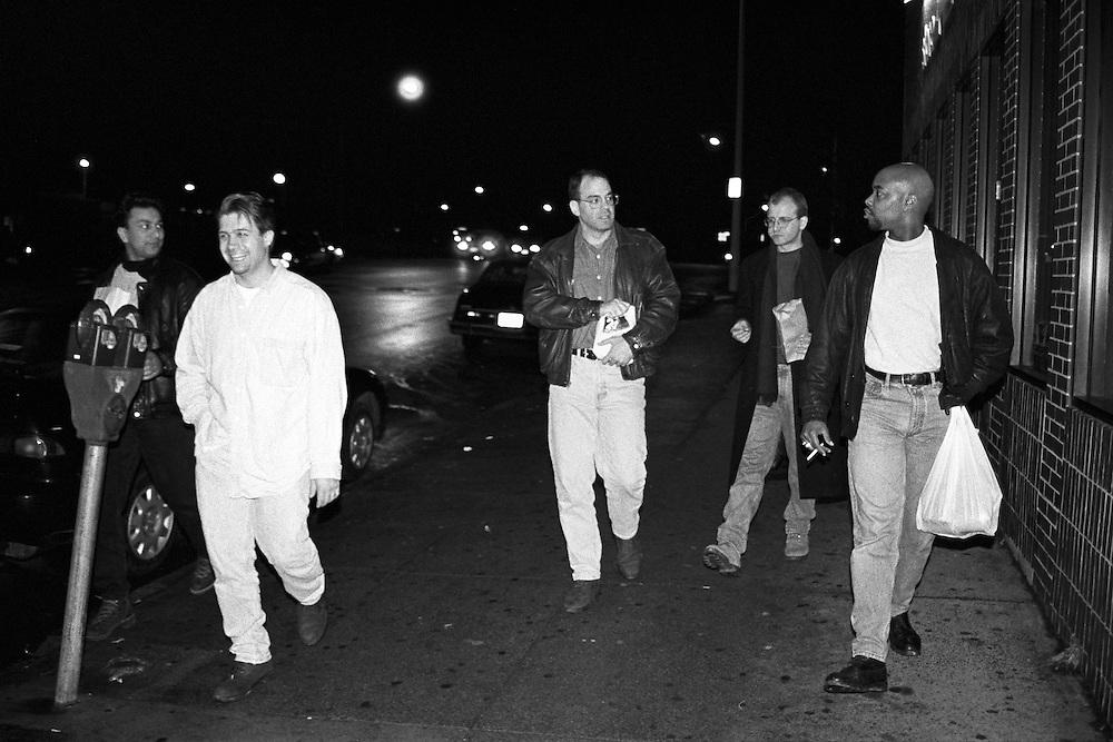 Raj, Chris, Dio, Michael, Ernie the group I call the Fellas.