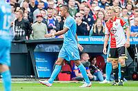 ROTTERDAM - Feyenoord - Willem II , Voetbal , Seizoen 2015/2016 , Eredivisie , Stadion de Kuip , 13-09-2015 , Willem II speler Richairo Zivkovic wordt al vroeg in de eerste helft gewisseld