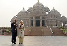 NOV 08 2013 Prince Charles & Camilla in New Delhi