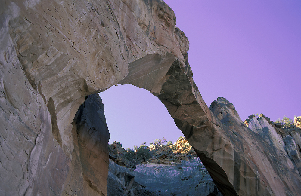 La Ventana,Natural Arch,El Malpais National Monument,New Mexico,USA