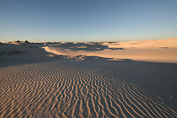 The dune system behind Eighty Mile Beach on Mandora Station, south of Broome.