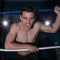 Boxer Anthony Crolla poses ahead of his fight against Darleys Perez which is being held at the Manchester Arena on Saturday 21st November