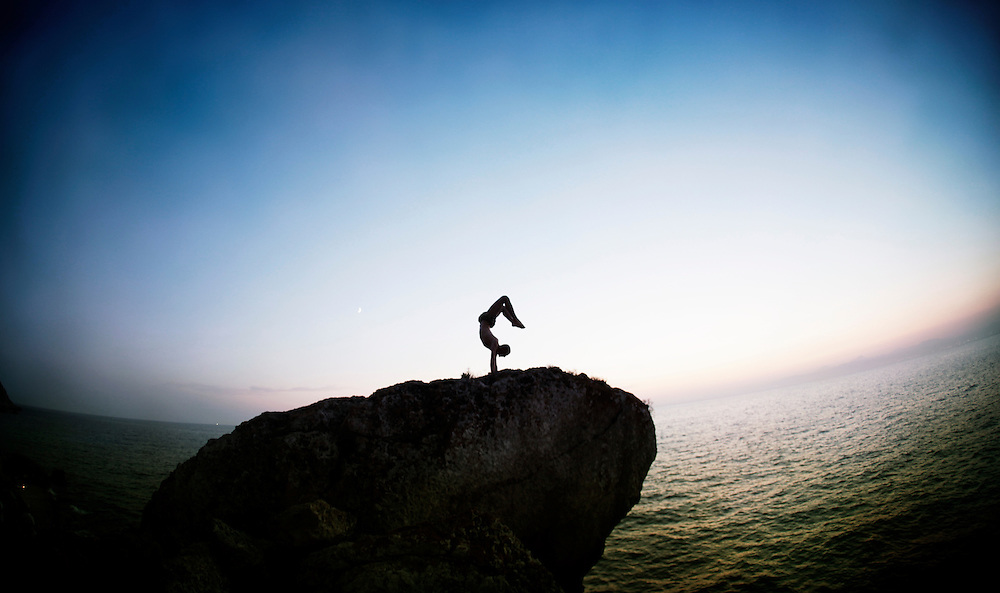 Yoga in Mallorca, a beautifull island in the meditarrenean sea.