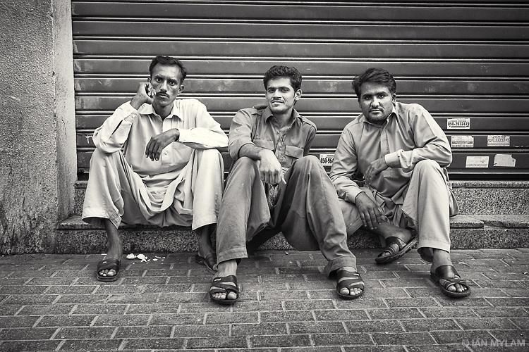 Three Men - Dubai, U.A.E.