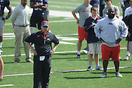 Hugh Freeze at Ole Miss football scrimmage at Vaught-Hemingway Stadium in Oxford, Miss. on Saturday, April 6, 2013.