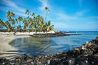 Honaunau offers some of the best snorkeling in Hawaii. The bay is directly next to one of Hawaiis most interesting historical landmarks: The Place of Refuge.