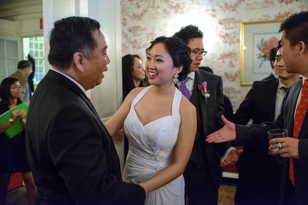 Photo by Matt Roth.Assignment ID: 30140754A..Evelyn Hsieh and Michael Wong held their reception at the the Mount Vernon Inn, in Mount Vernon, Virginia on Saturday, April 06, 2013.