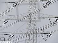 Power transmission line power pole