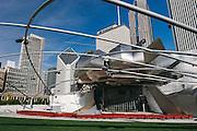 Jay Pritzker Pavillion in Millennium Park.  Chigaco, Illinios