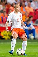 AMSTERDAM - Nederland - USA , Amsterdam ArenA , Voetbal , oefeninterland , 05-06-2015 ,  Nederlands elftal speler Jordy Clasie