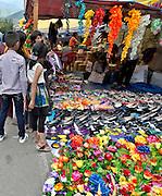 BU00022-00...BHUTAN -  Special festival street market during the annual Thimphu Tsechu (festival).