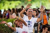 Junta Brings Happiness Party to Lumpini Park