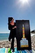 Artist portrait Cottesloe Beach