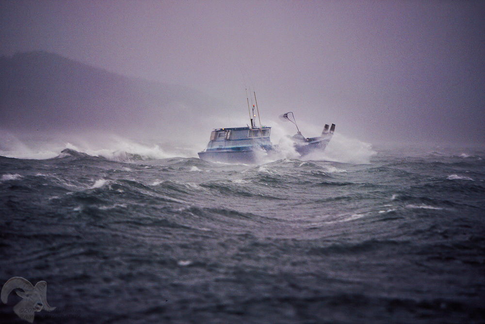 Boat Storm Shelter : Punching through the storm bob martinson photography