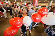 Report Free No Charge for Repro<br /> 11-6-15<br /> <br /> Wexford GAA star Lee Chin and top stylist Cathy O&rsquo;Connor along with 4 year old Alex Donnellan, representing Enable Ireland, charity partner of TK Maxx, officially opened the new TK Maxx store in Wexford.<br /> <br /> Pictured is top stylist Cathy O&rsquo;Connor  and Wexford GAA star Lee Chin.<br /> <br /> The 26,000 sq. foot store located at Paul Quay has created 40 new jobs in Wexford town. Commenting on the new Wexford store, Store Manager Stephen Barron said: &ldquo;We are very excited to be opening the new store and bringing shoppers in Wexford big savings on all their favourite brands.&quot;<br /> <br /> The new store in Wexford is the 21st TK Maxx store in Ireland.<br /> <br /> Picture Dylan Vaughan.<br /> <br /> For further press information/photography please contact FleishmanHillard:<br /> Sandra Morris:   sandra.morris@fleishmaneurope.com / 01 618 8444 / 086 847 4644<br /> Astrid Brennan:  astrid.brennan@fleishmaneurope.com  / 01 618 8444 / 086 215 4883